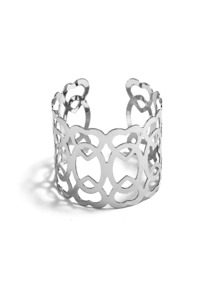 Hollow Design Cuff Bracelet