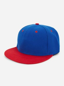 Colorblock Snapback Hat