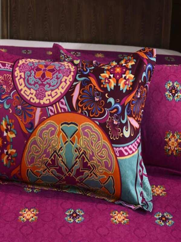 Bettwäsche Set Orientalisches Muster Shein