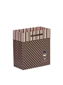 Polka Dot Print Small Paper Bag