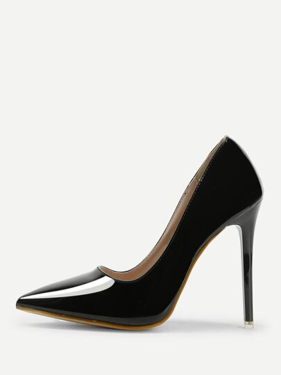 Point Toe Stiletto Court Heels