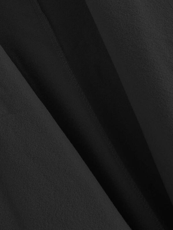 Veste zippée en cuir PU