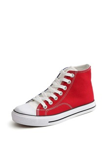 Color Block High Top Sneakers