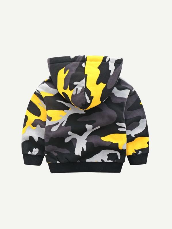 9e11173651 Toddler Boys Camo Print Hooded Sweatshirt