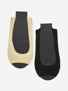 Open Toe Invisible Socks 2pairs