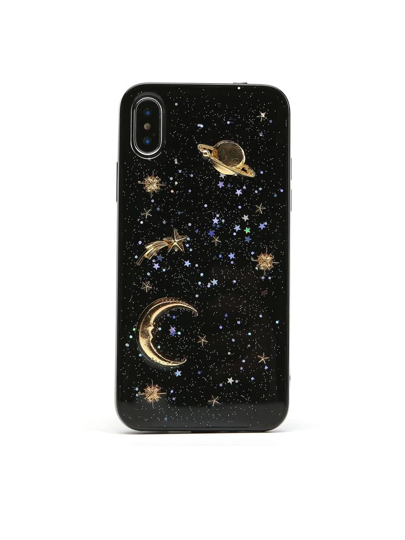 super popular 8d4da 9cfbf Planet Print iPhone Case