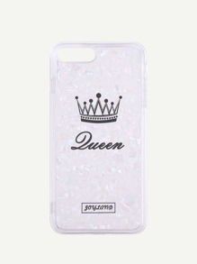 Crown Pattern iPhone Case