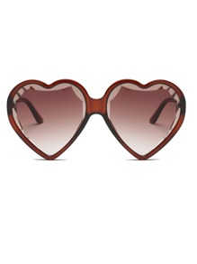 Heart Shaped Lens Sunglasses