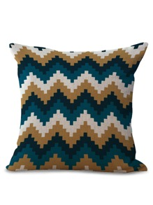 Chevron Print Pillowcase 1pc