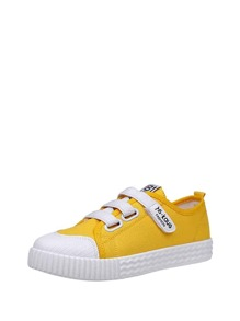 Velcro Strap Canvas Sneakers