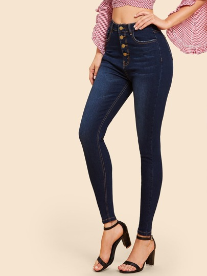 dc49dc451120a Jeans | Jeans pour femmes | SHEIN