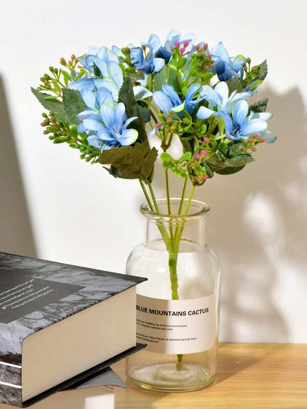 4fc0cde1ef Artificial Flower Bunch With 5pcs Branch | SHEIN