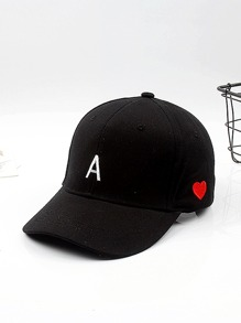 Embroidered Letter Baseball Cap