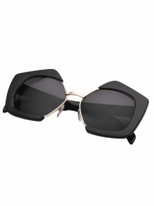 Polygon Frame Sunglasses