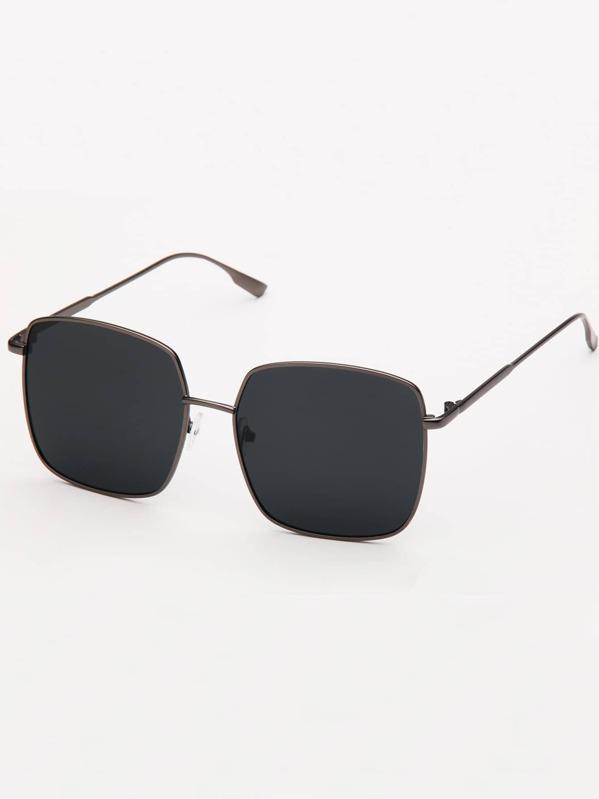 3086d596c1 Men Metal Frame Sunglasses   SHEIN IN