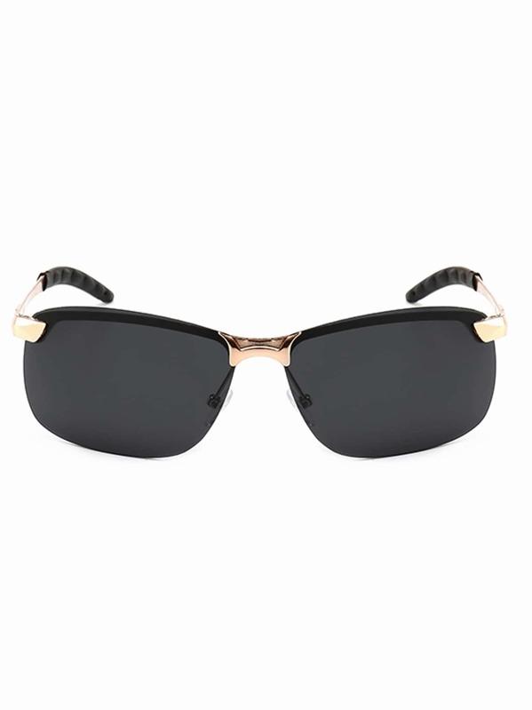 7df1af022 نظارة شمسية رجالية بدون إطار   شي إن