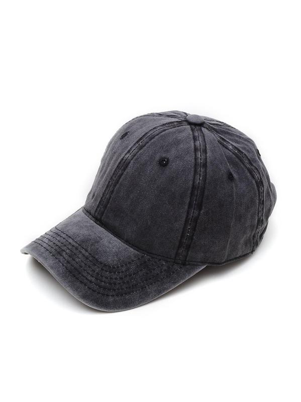 27f2c35d3c Men Plain Baseball Cap | SHEIN IN