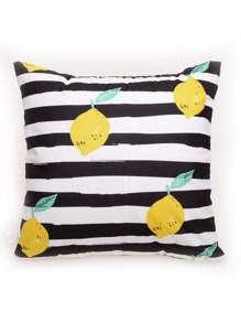 Lemon Print Pillowcase