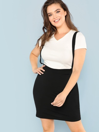 3153650678 Plus Size Skirts | Plus Size Skirts Online | SHEIN