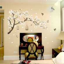 INOpets.com Anything for Pets Parents & Their Pets Tree & Bird Wall Sticker