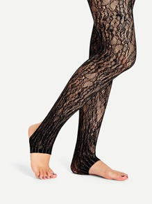 Stirrup Lace Tights