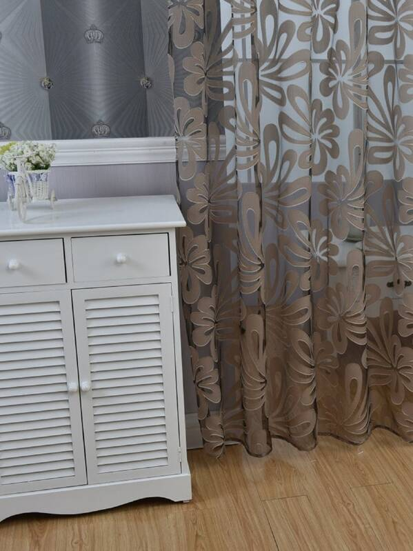 9bf3af8333 Cheap 3D Floral Grommet Sheer Curtain 1pc for sale Australia | SHEIN