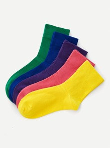 Plain Ankle Sock 5pairs