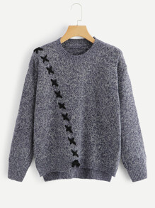 Lace Up Marley Sweater