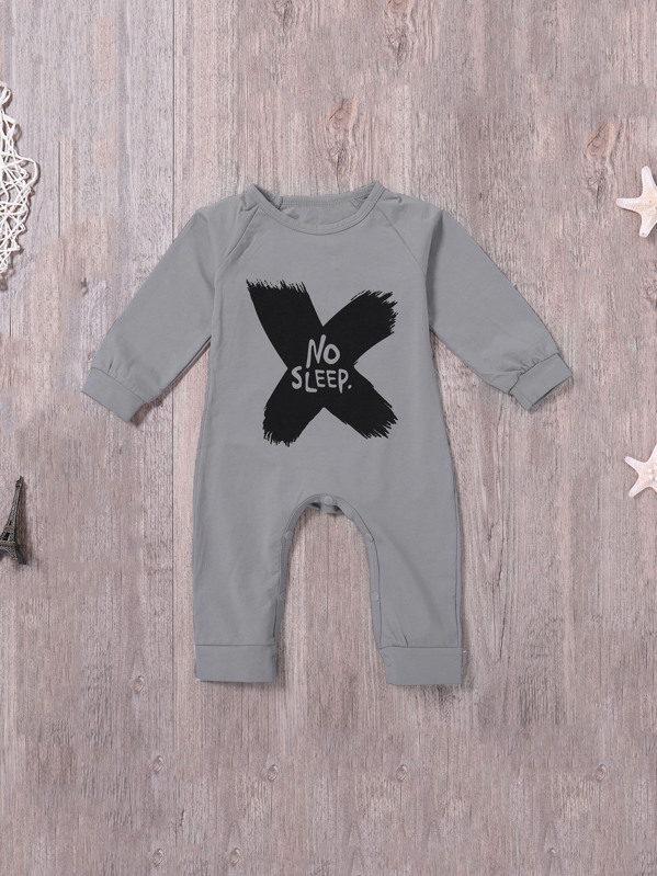 353db5ff81900 Toddler Boys Letter Print Jumpsuits | SHEIN
