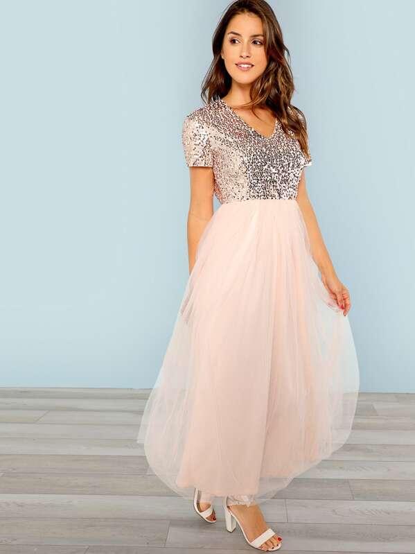 5997af6bdca Cheap Sequin Top Tulle Dress for sale Australia