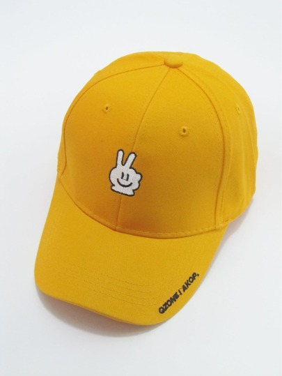 Men Embroidered Hand Baseball Cap