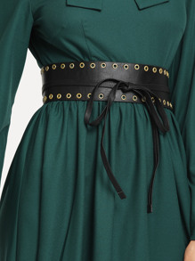 Self Tie Eyelet Belt