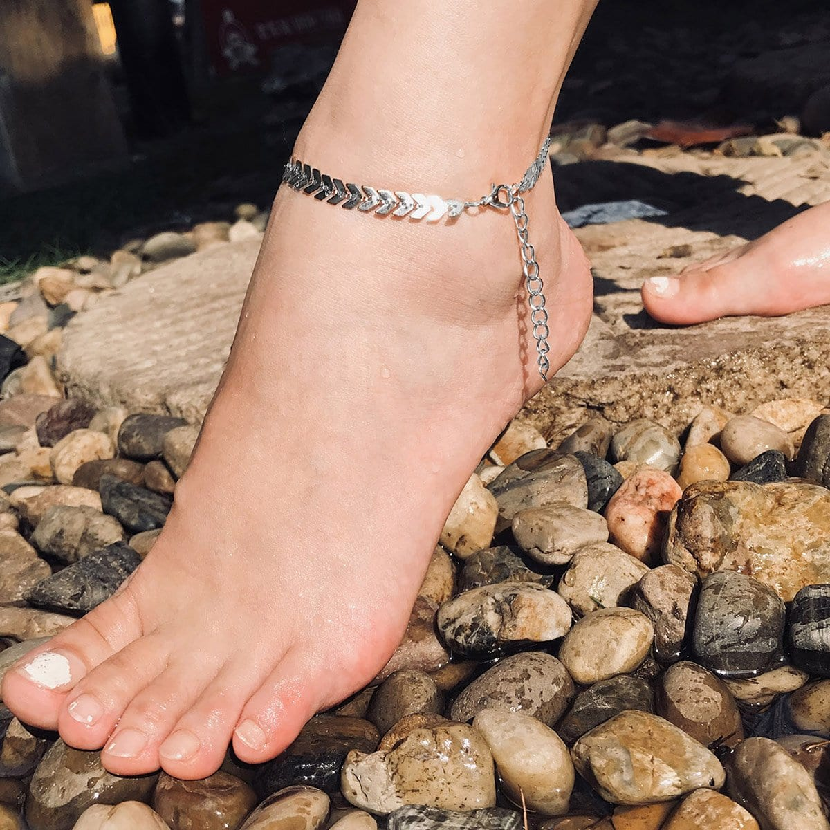 Wheat Ears Design Anklet, SHEIN  - buy with discount