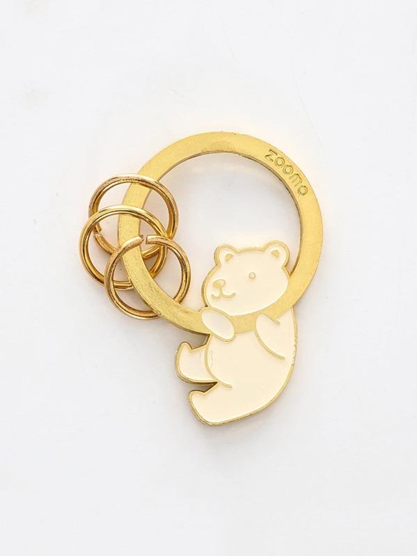825e6c3d71 Bear Decorated Ring Keychain | SHEIN