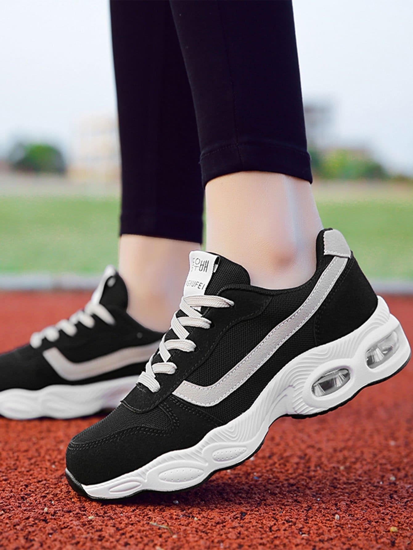 d1006aec1b2 Cheap Lace Up Chunky Sole Sneakers for sale Australia | SHEIN