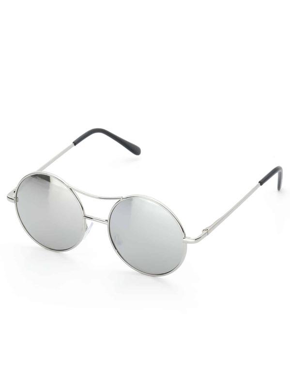 4c10006c7b Gafas de sol de niñas redondas con doble puente   SHEIN ES