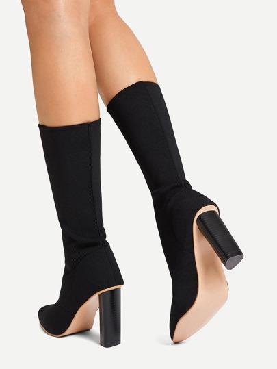 1e07fd031d Home · Shoes · Boots; Plain Sock Boots