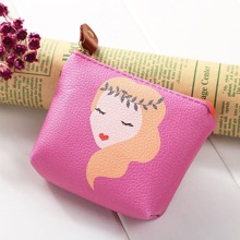 Girl Print Coin Purse (bag180730810) photo
