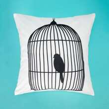 INOpets.com Anything for Pets Parents & Their Pets Bird Print Pillowcase 1PC