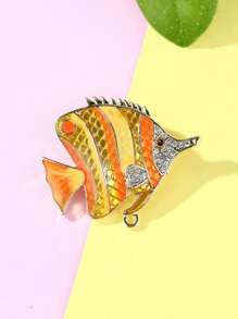 Tropical Fish Design Brooch