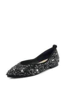 Sequin Decor Glitter Flats