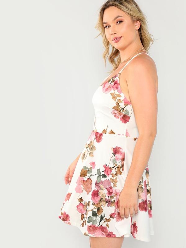 4c68646410 Sleeveless Floral Mini Dress