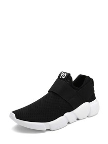 Low Top Slip On Chunky Sole Sneakers