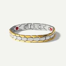 Men Textured Detail Magnetic Bracelets