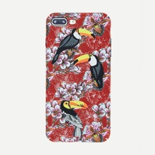 INOpets.com Anything for Pets Parents & Their Pets Bird & Flower Luminous iPhone Case