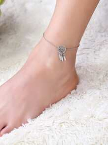 Dreamcatcher  Detail Anklet
