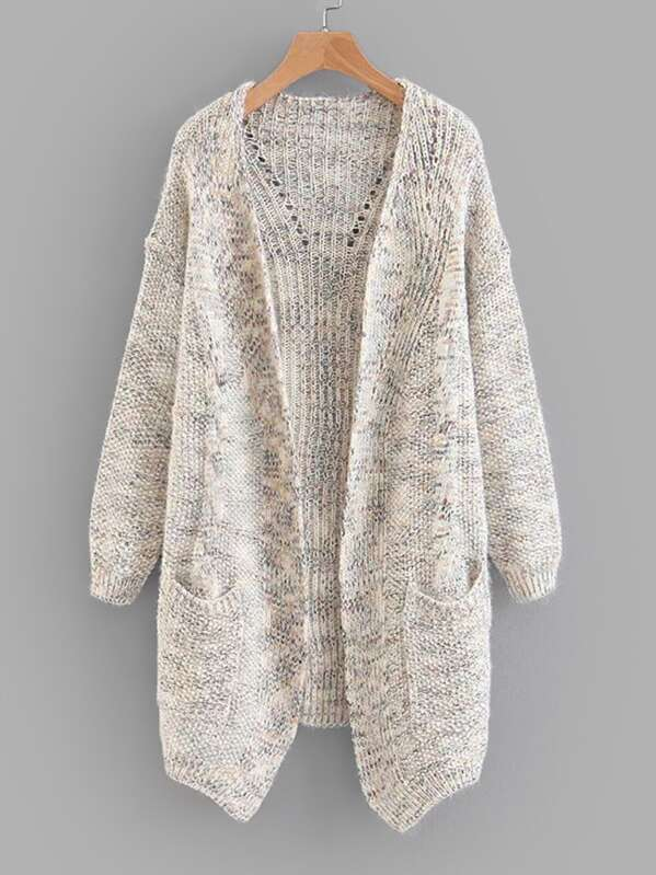 a3847c1591 Space Dye Cable Knit Cardigan