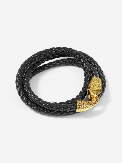 Bracciale design serpente