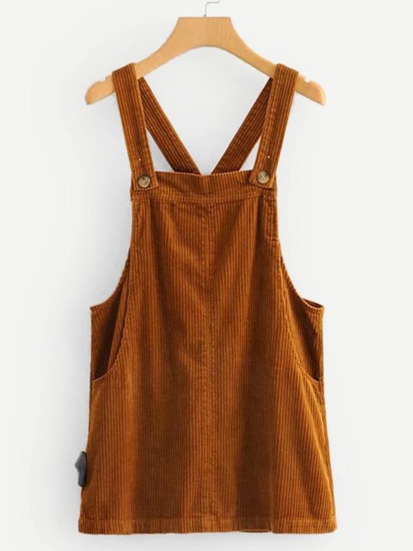 94f8b11d1b6 Corduroy Overall Dress