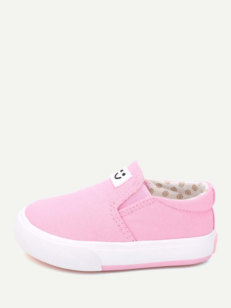 de Tennis Enfants Detail Flicken Mit Keil Chaussures TZOkXiuP